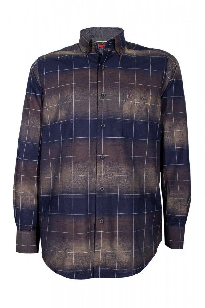 Gömlek %100 Pamuk Uzun Kol Klasik Kesim - 574 - 6