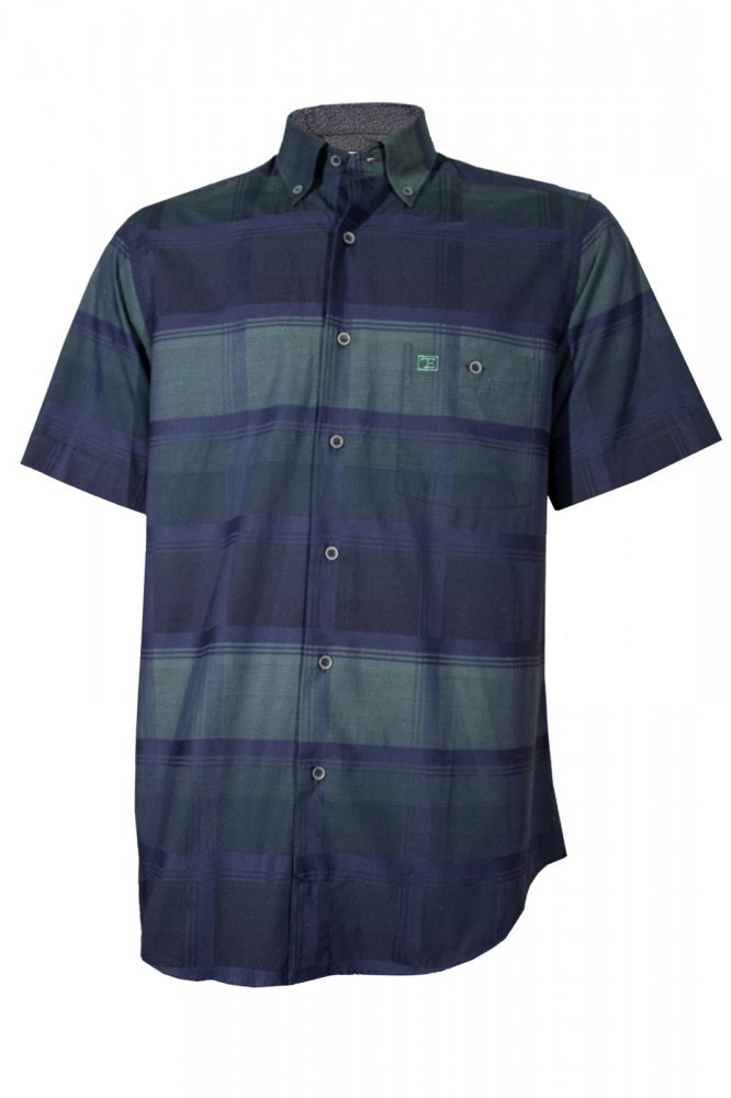 Gömlek Özel Dokuma Kısa Kol - 474-12