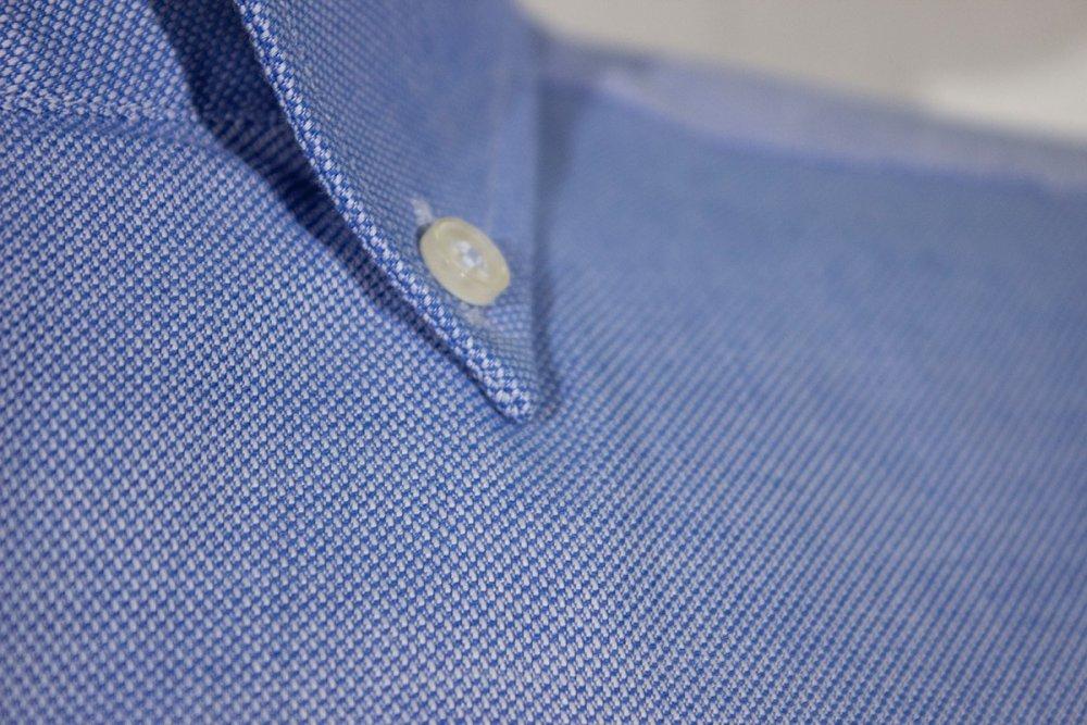 Oxford Gömlek Kısa Kol 674 - 10 O.Mavi