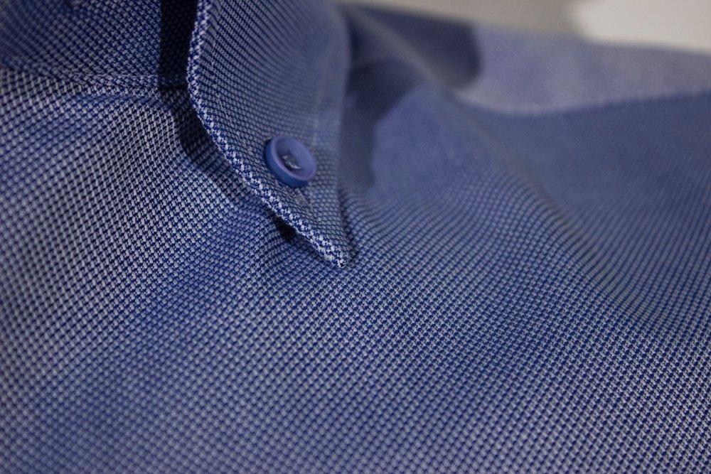 Oxford Gömlek Kısa Kol 674 - 14 K.Mavi