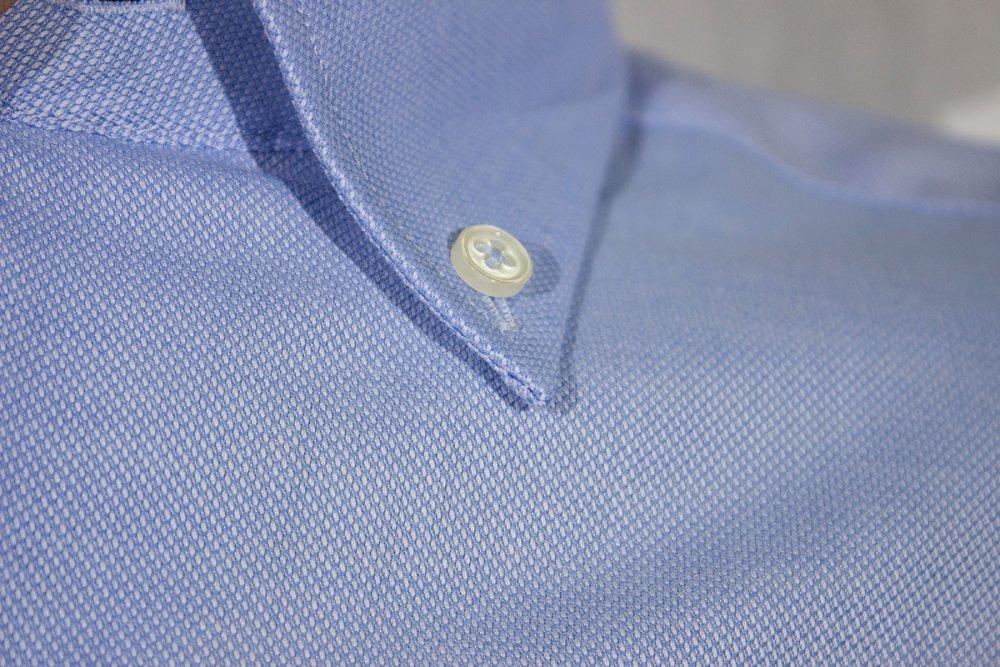 Oxford Gömlek Kısa Kol 674 - 9 A.Mavi